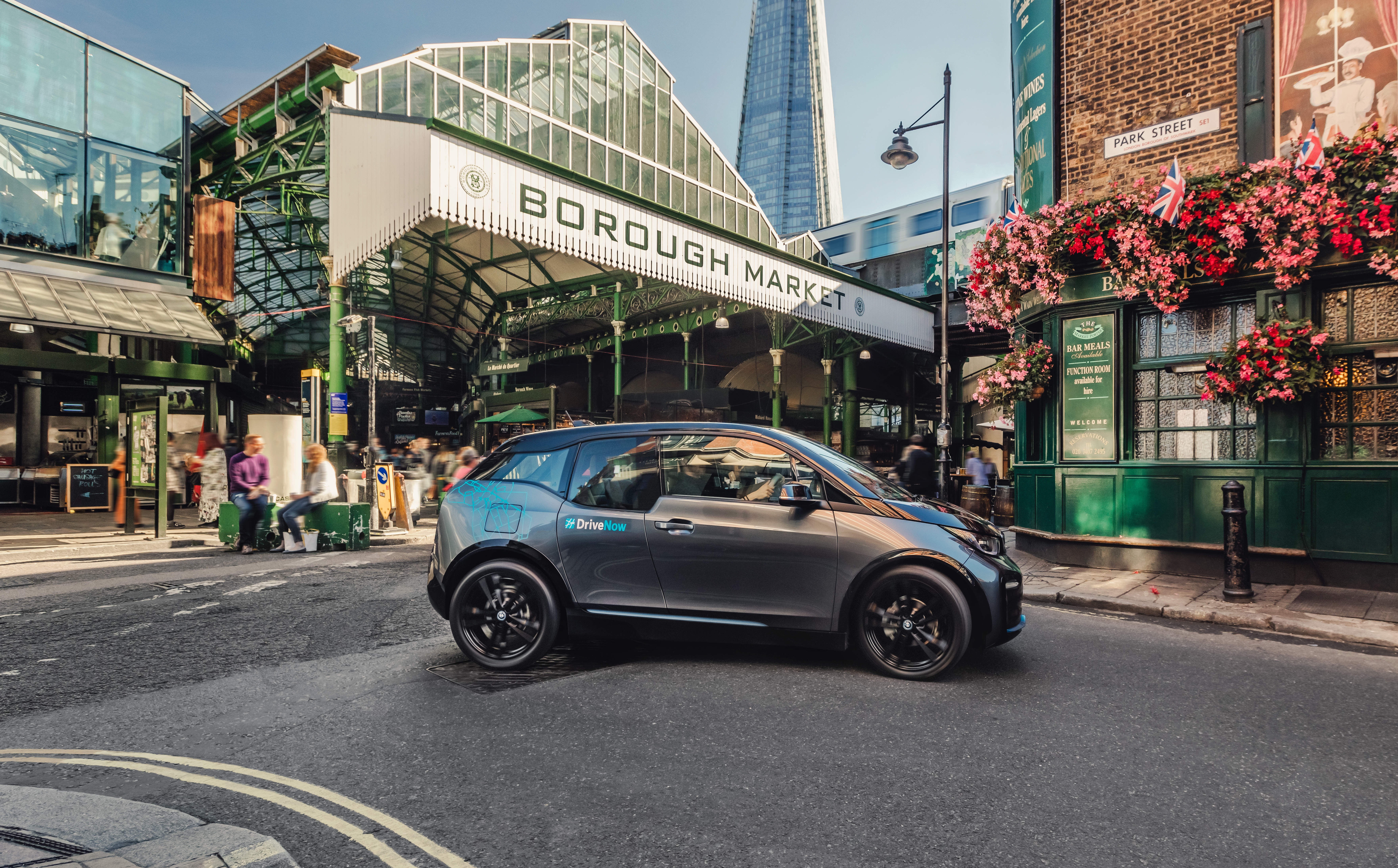 BMW's DriveNow expands in London ahead of Daimler merger