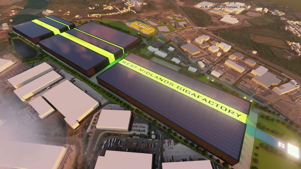 Coventry Council announces plans for EV battery gigafactory